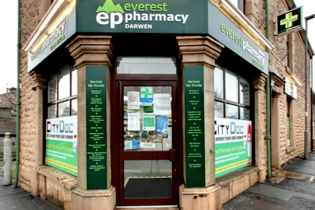 pharmacy darwen